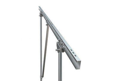 Q235 Galvanized Steel Profile Mounting Stand Racking Brackets For Solar Panel Mount System